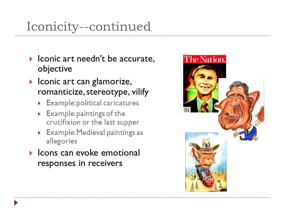 Iconicity--continued