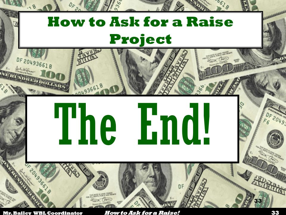 How to Ask for a Raise Project