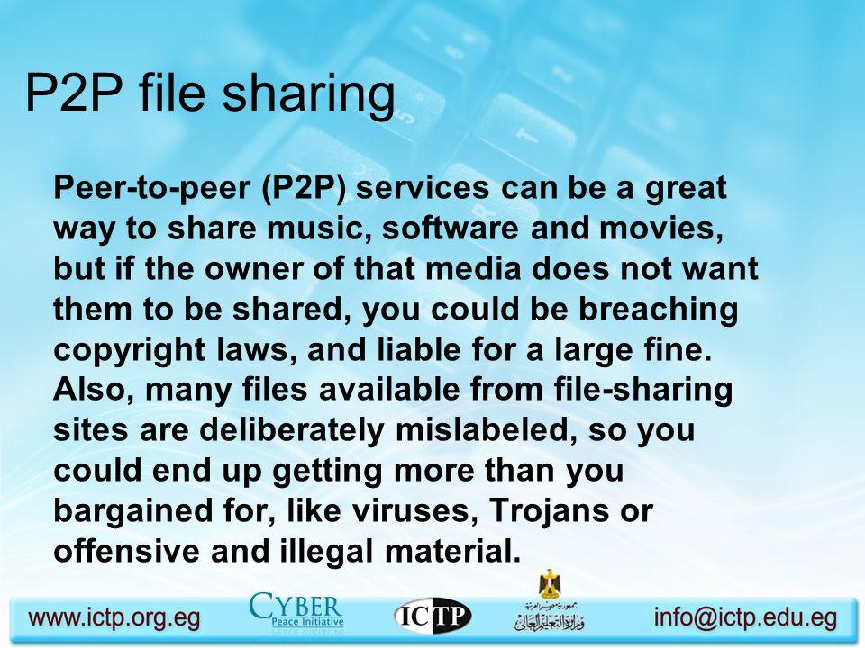 P2P file sharing