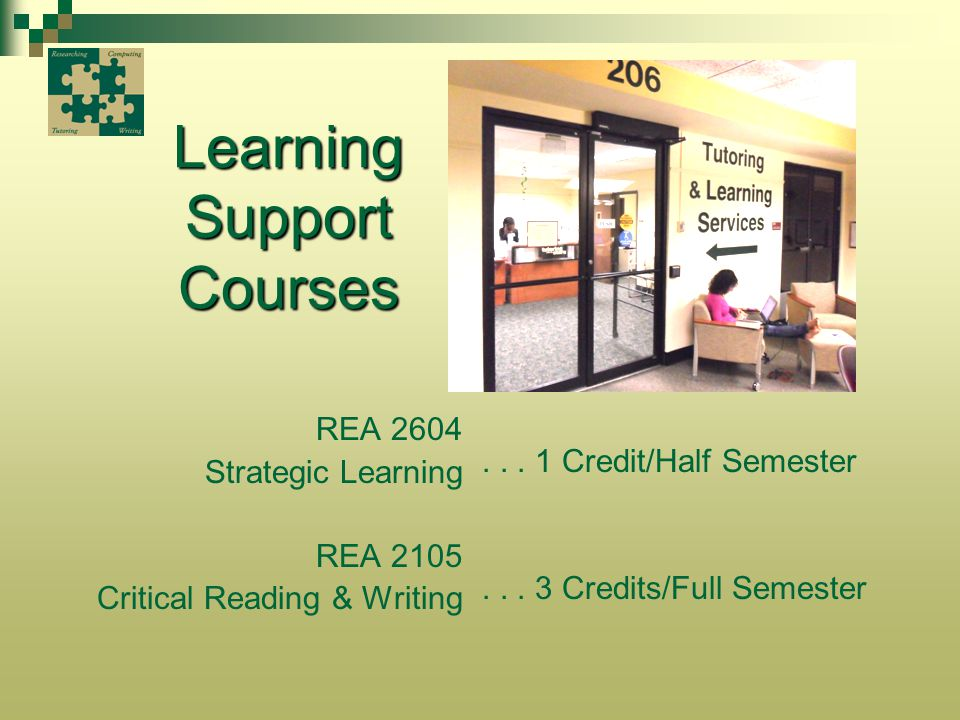 Learning Support Courses