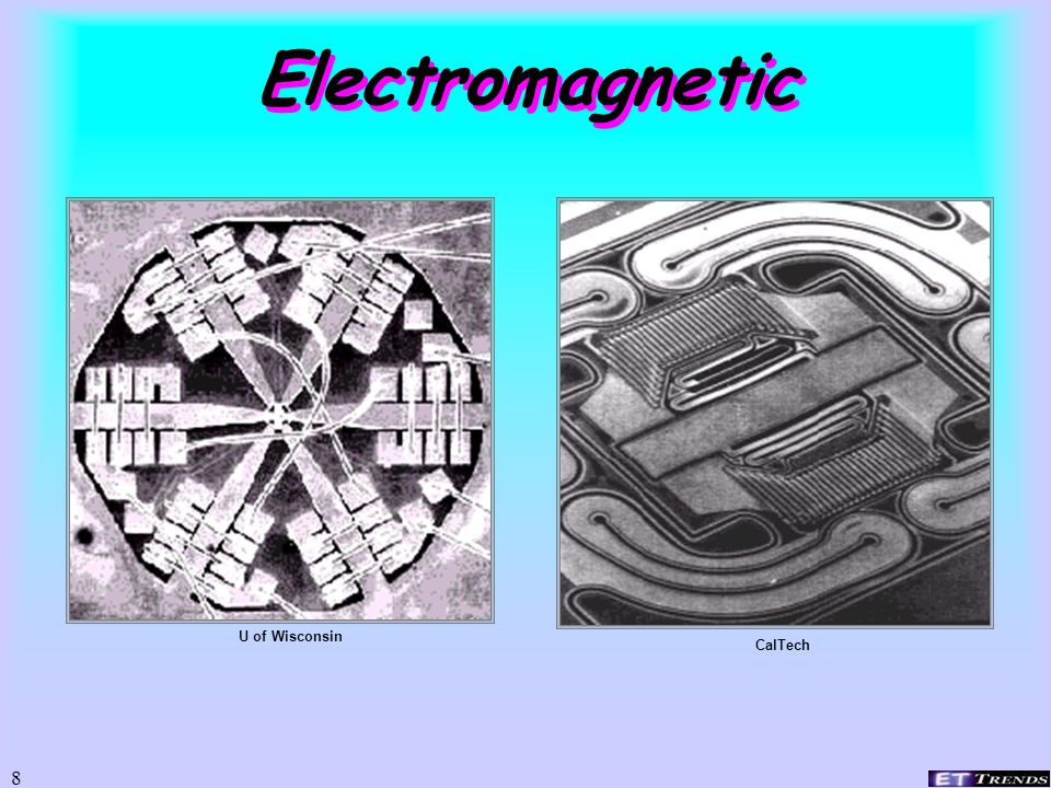Electromagnetic U of Wisconsin CalTech
