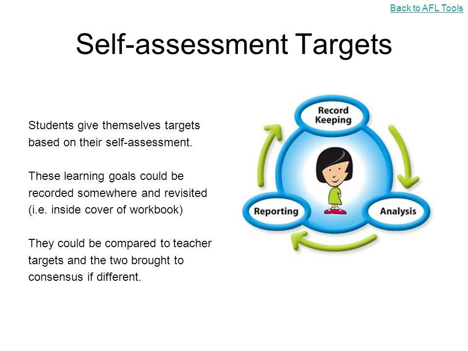 Self-assessment Targets