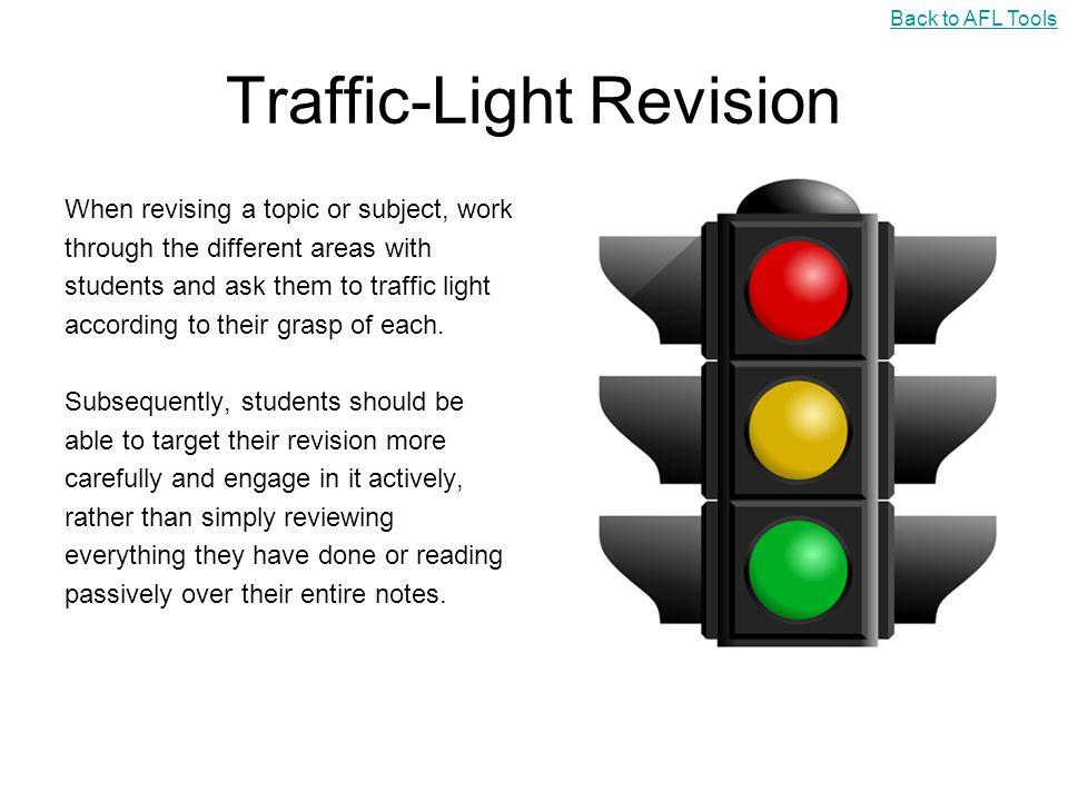 Traffic-Light Revision