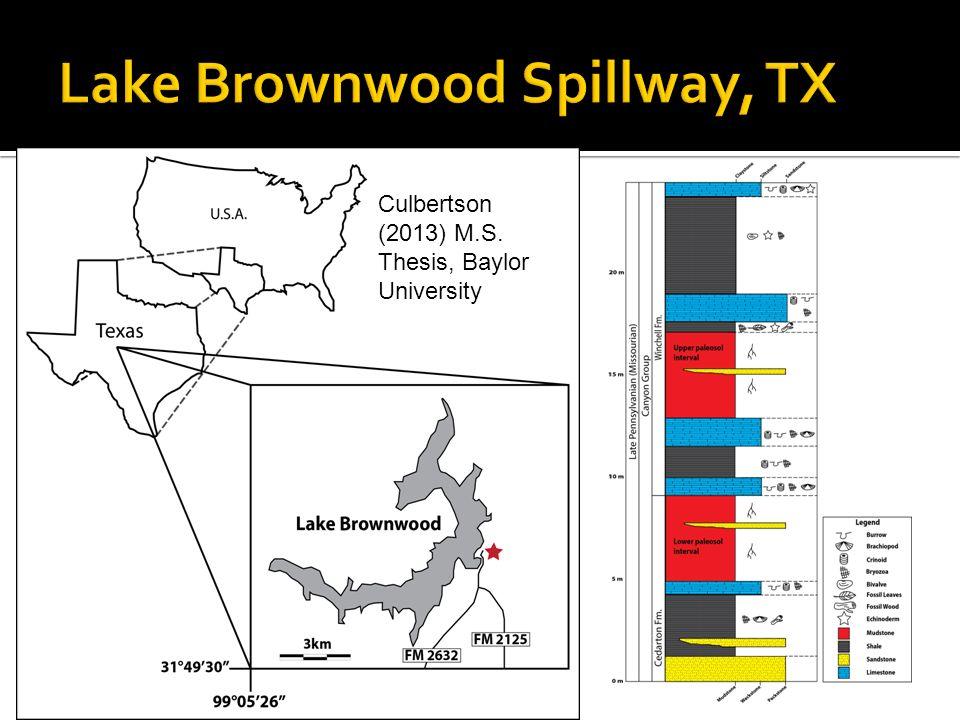 Lake Brownwood Spillway, TX