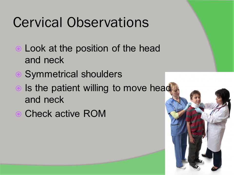 Cervical Observations