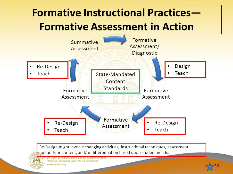 Formative Instructional Practices—Formative Assessment in Action