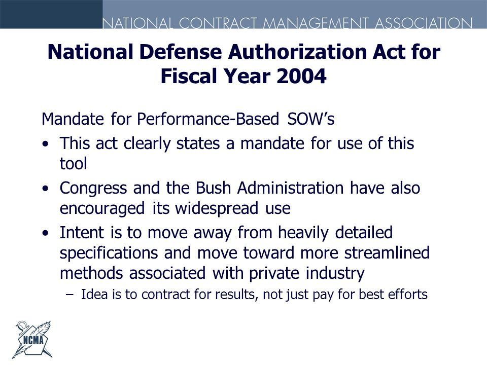 National Defense Authorization Act for Fiscal Year 2004