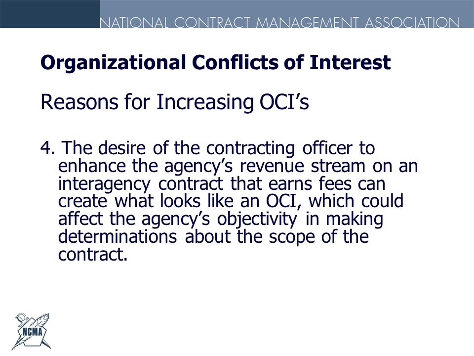 Organizational Conflicts of Interest