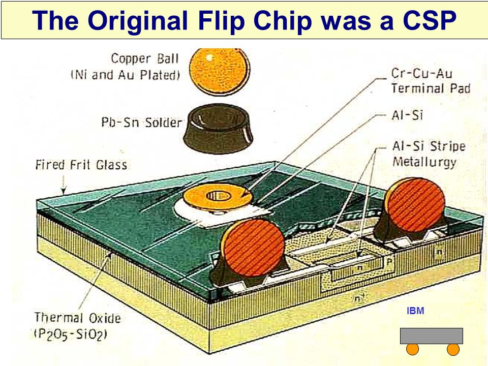 The Original Flip Chip was a CSP