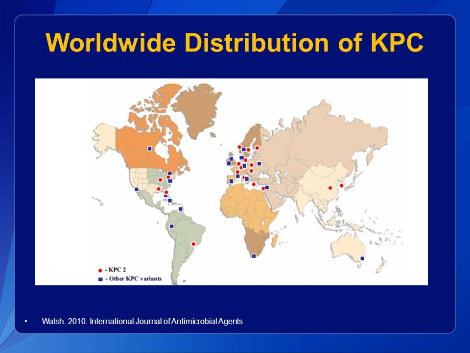Worldwide Distribution of KPC
