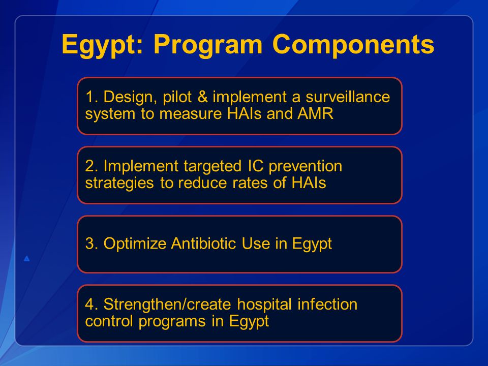 Egypt: Program Components