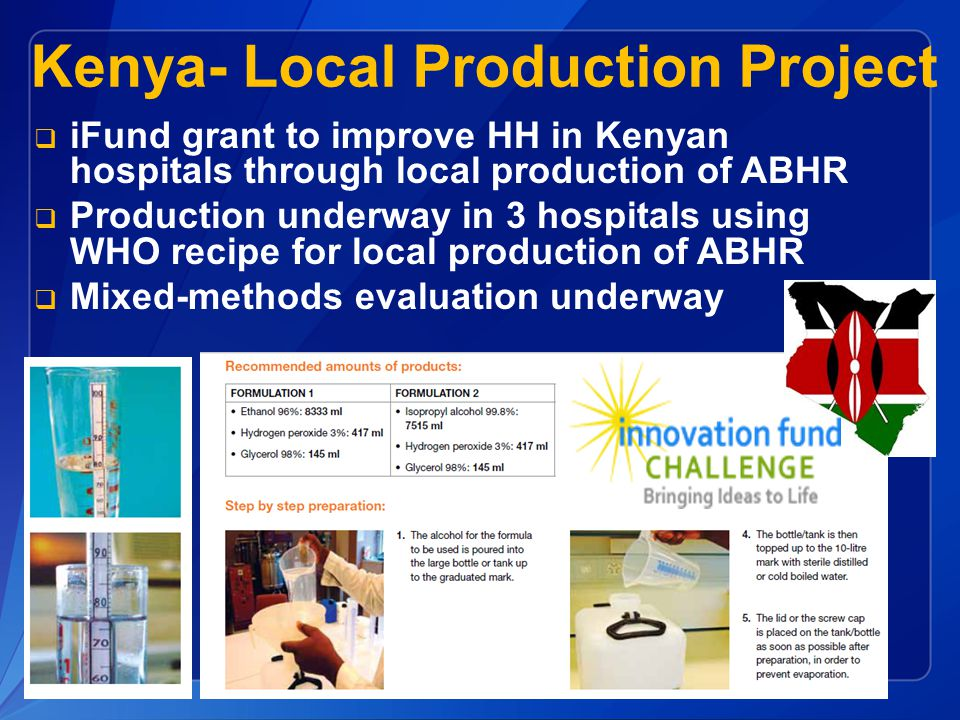 Kenya- Local Production Project