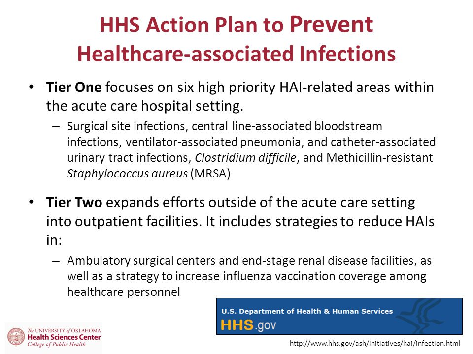 HHS Action Plan to Prevent Healthcare-associated Infections