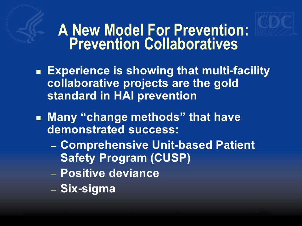A New Model For Prevention: Prevention Collaboratives
