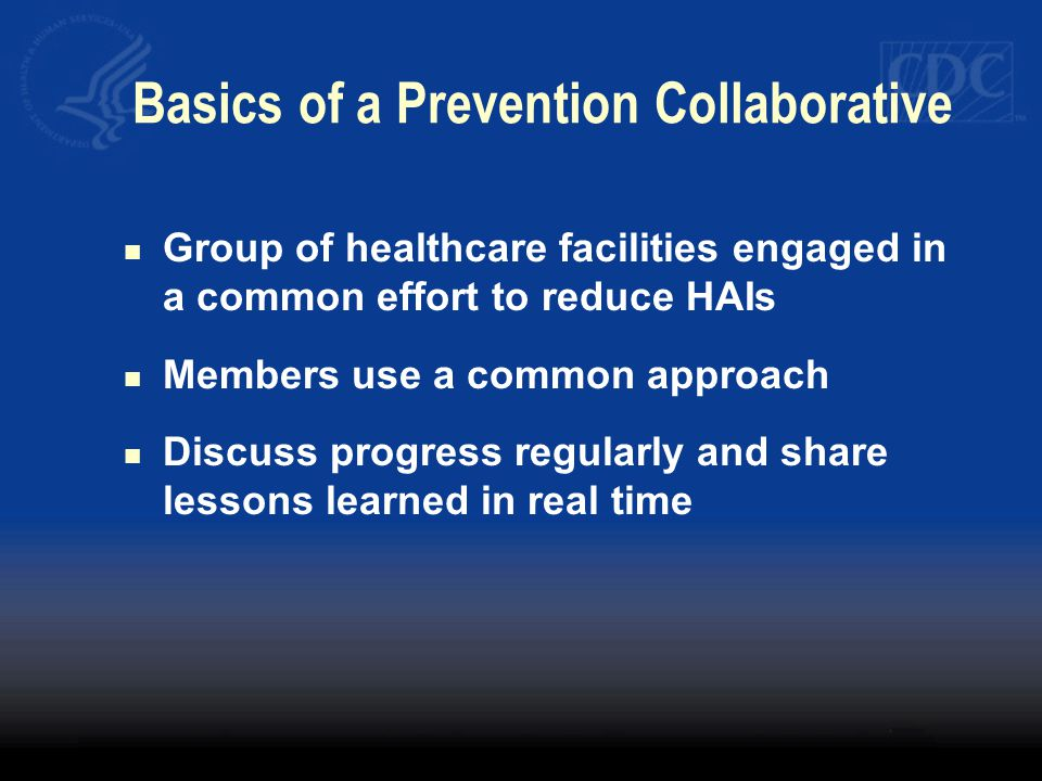 Basics of a Prevention Collaborative