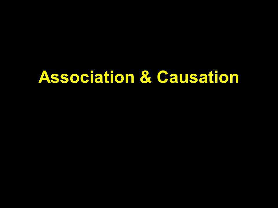 Association & Causation