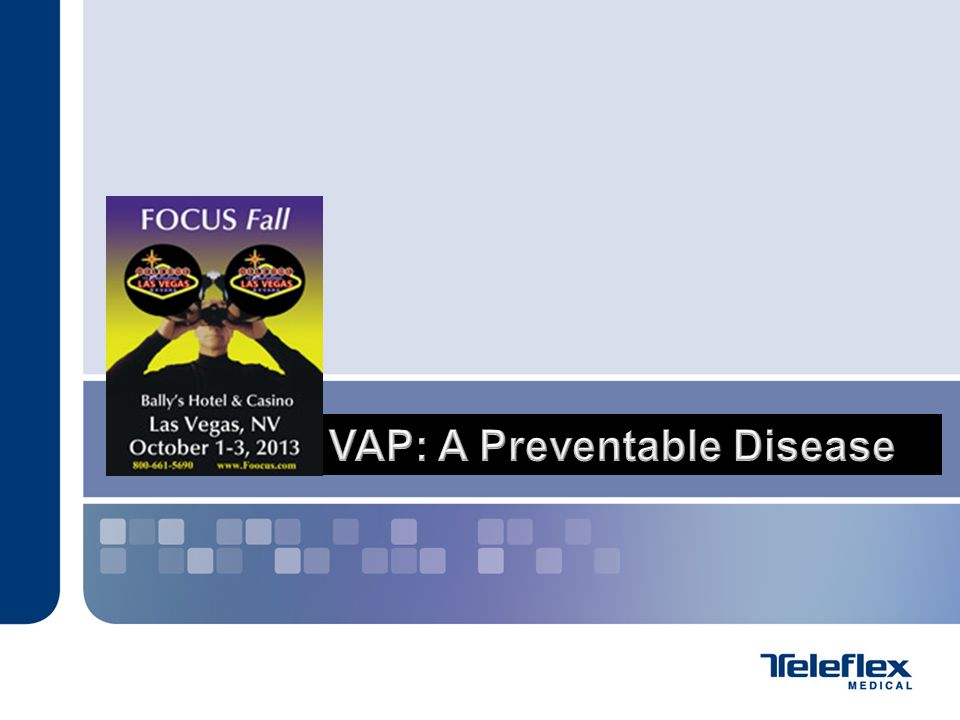 VAP: A Preventable Disease