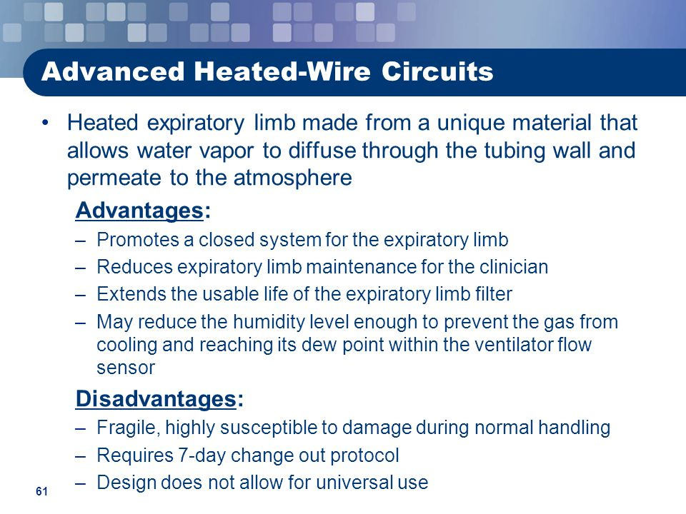Advanced Heated-Wire Circuits