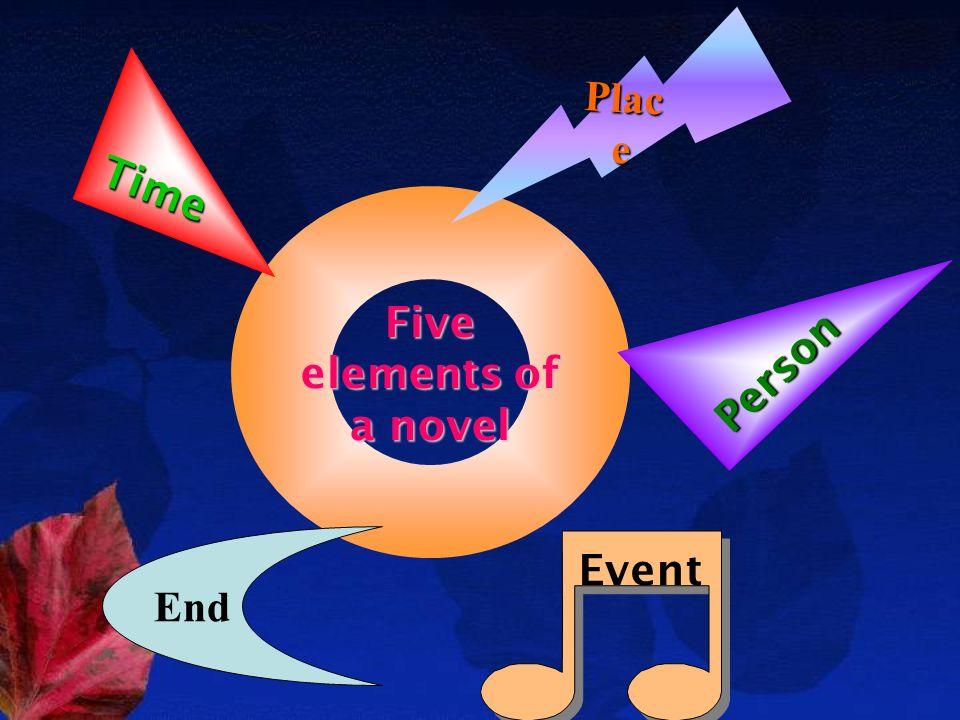 Five elements of a novel