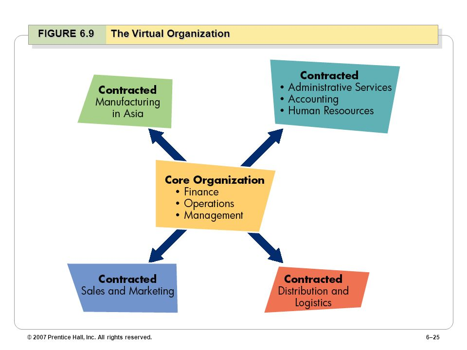 FIGURE 6.9 The Virtual Organization
