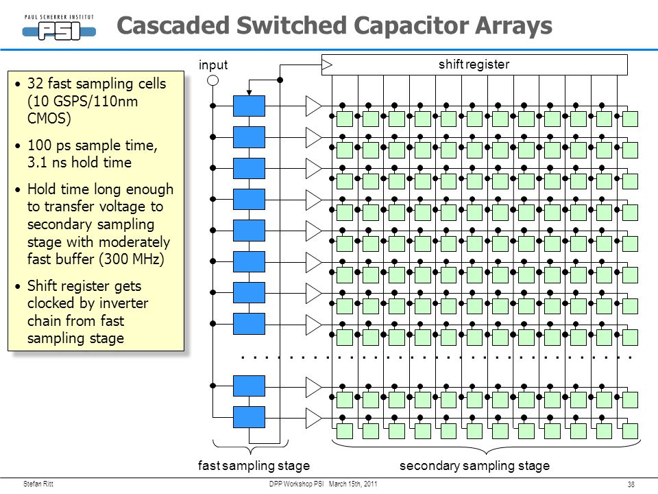 Cascaded Switched Capacitor Arrays