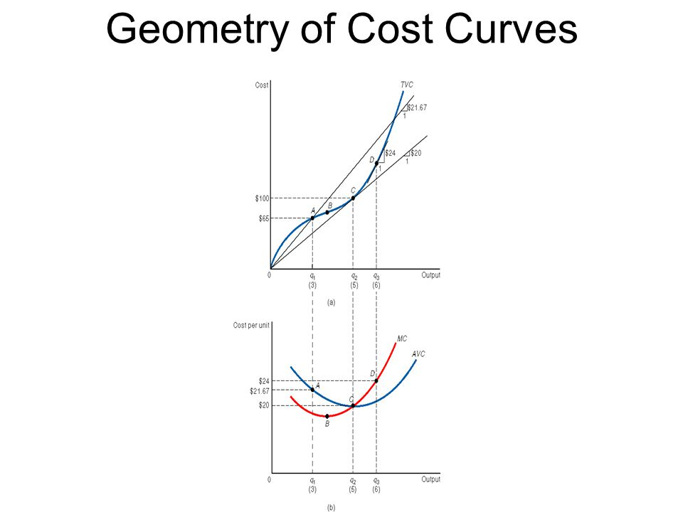 Geometry of Cost Curves [Figure 8.3]