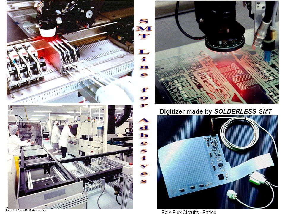 SMT Line for Adhesives Digitizer made by SOLDERLESS SMT
