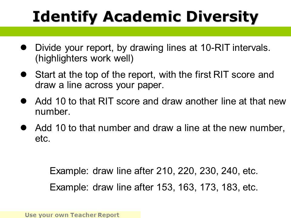 Identify Academic Diversity