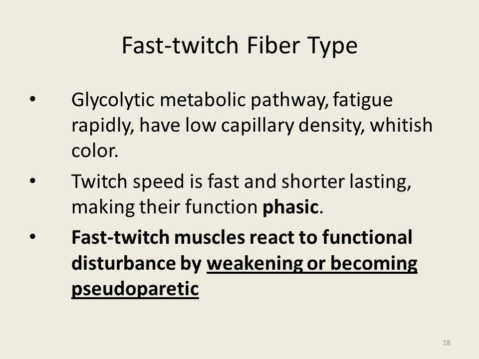 Fast-twitch Fiber Type