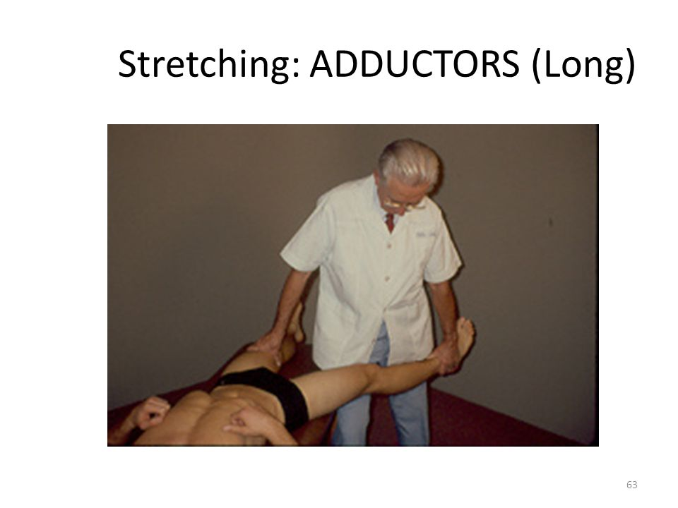 Stretching: ADDUCTORS (Long)