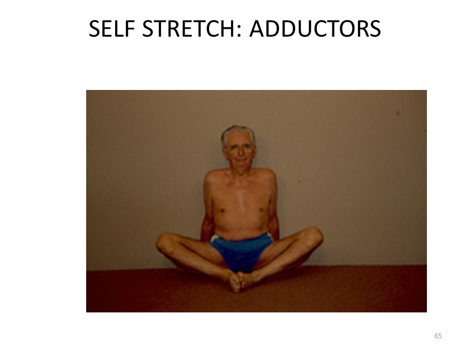 SELF STRETCH: ADDUCTORS