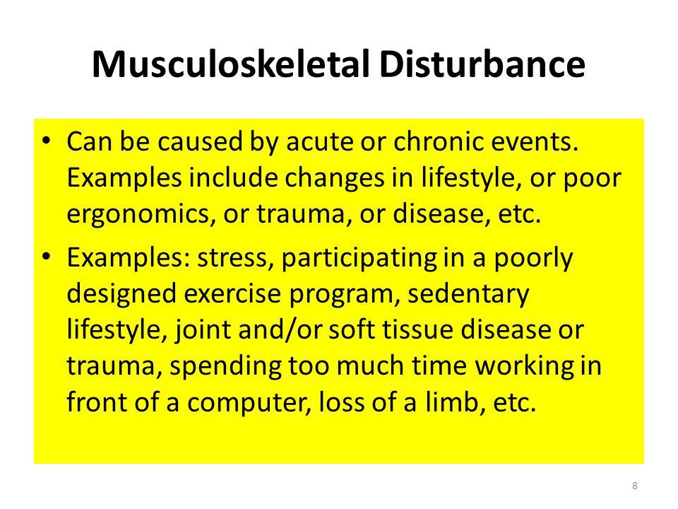 Musculoskeletal Disturbance