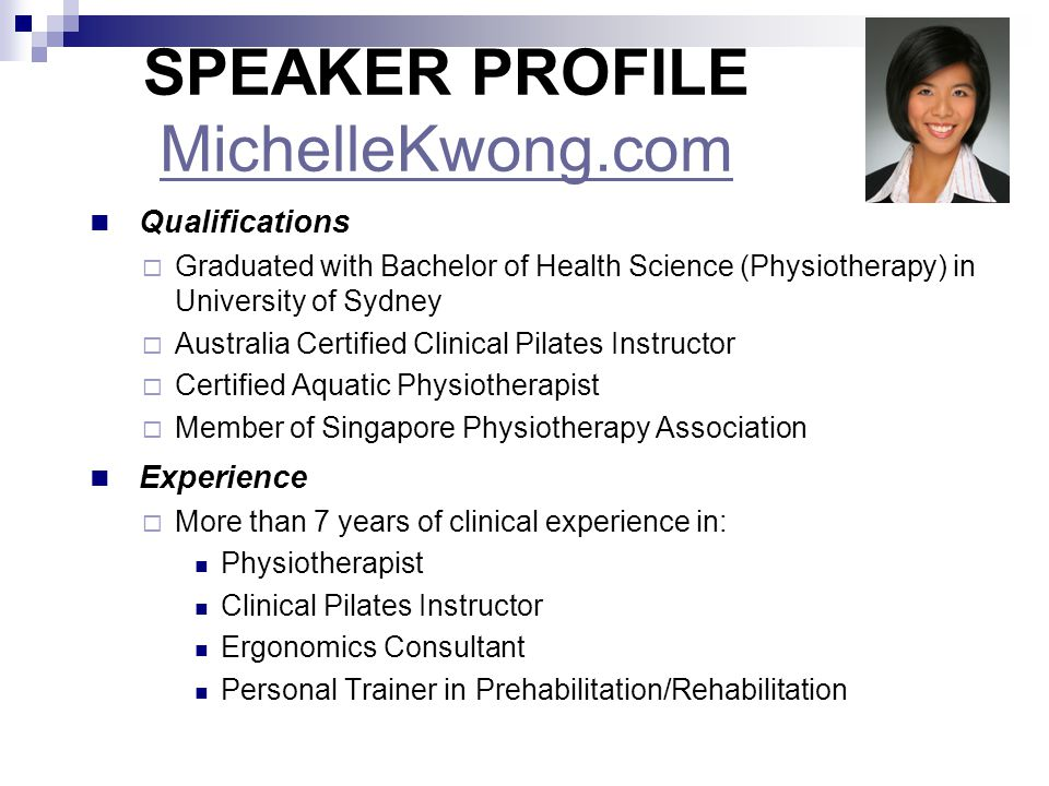 SPEAKER PROFILE MichelleKwong.com