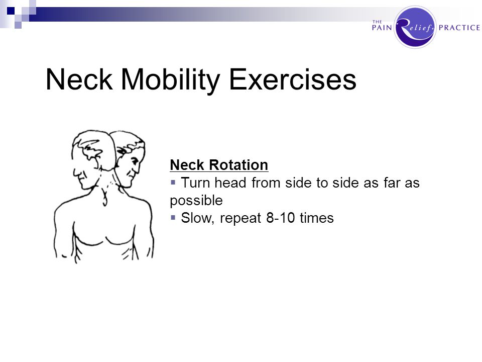 Neck Mobility Exercises