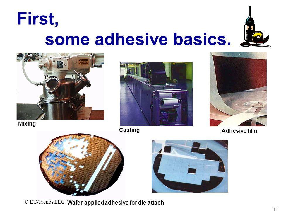 First, some adhesive basics.