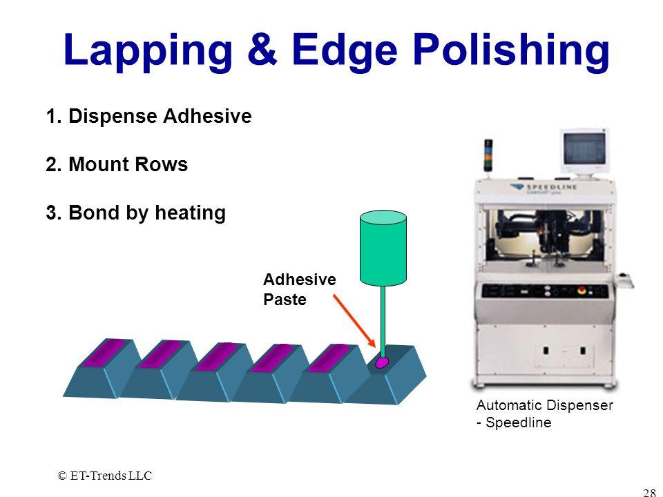 Lapping & Edge Polishing