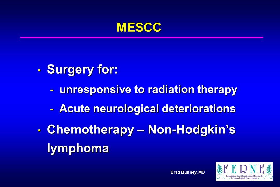 Chemotherapy – Non-Hodgkin's lymphoma
