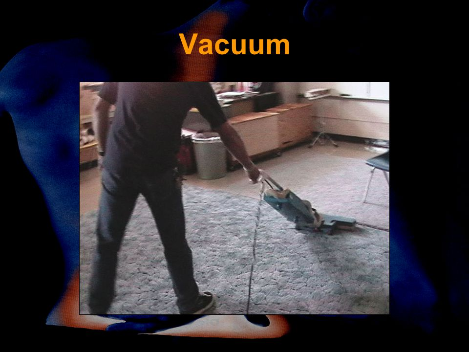 Vacuum Is this close to body