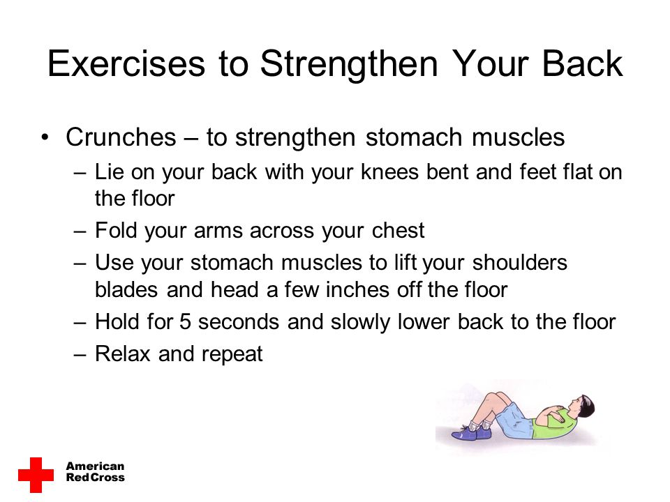 Exercises to Strengthen Your Back