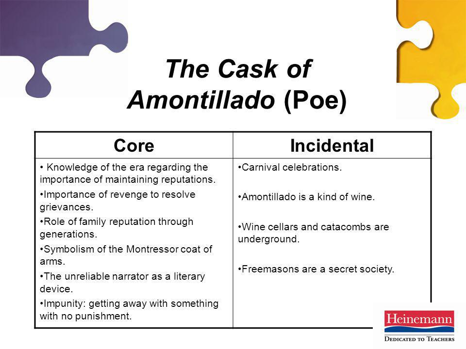 The Cask of Amontillado (Poe)