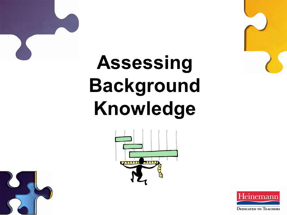 Assessing Background Knowledge