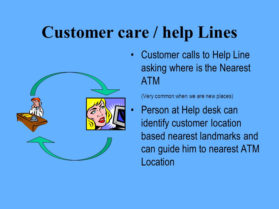 Customer care / help Lines