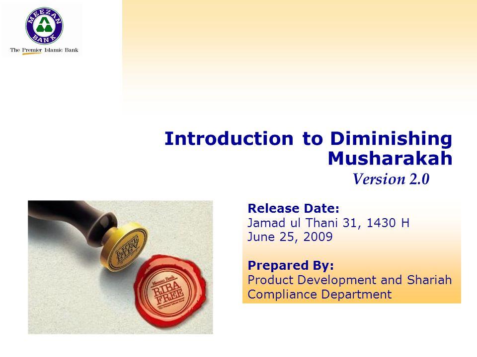 Introduction to Diminishing Musharakah