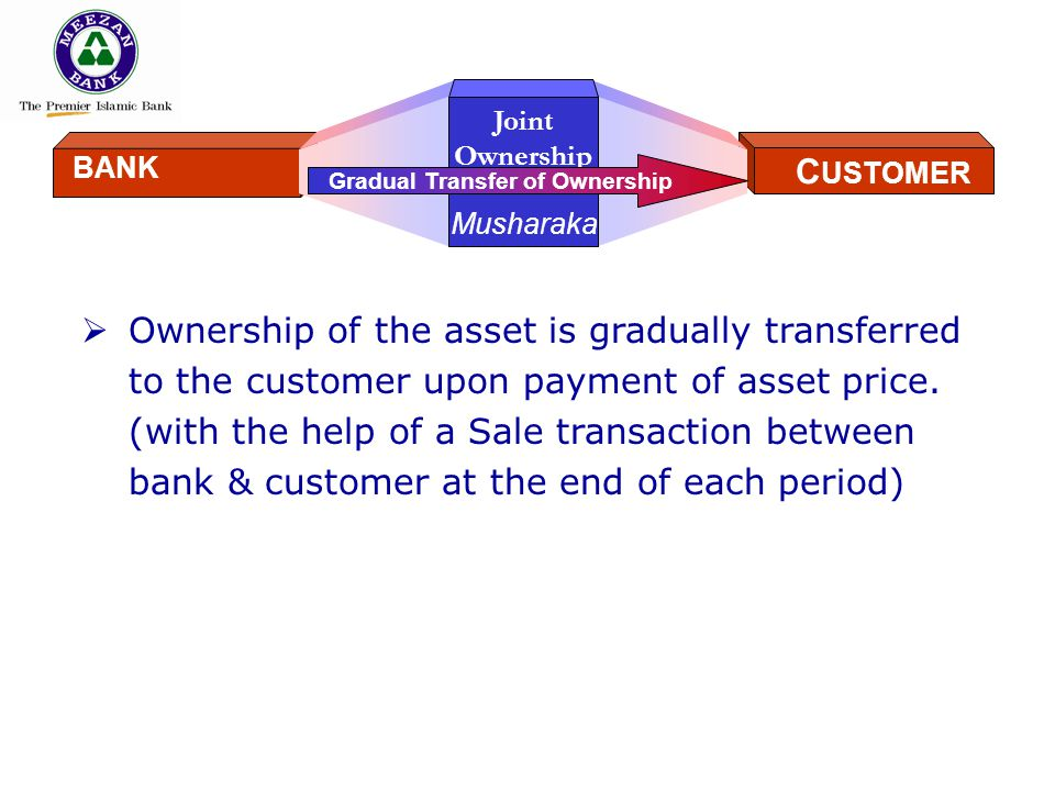 Gradual Transfer of Ownership
