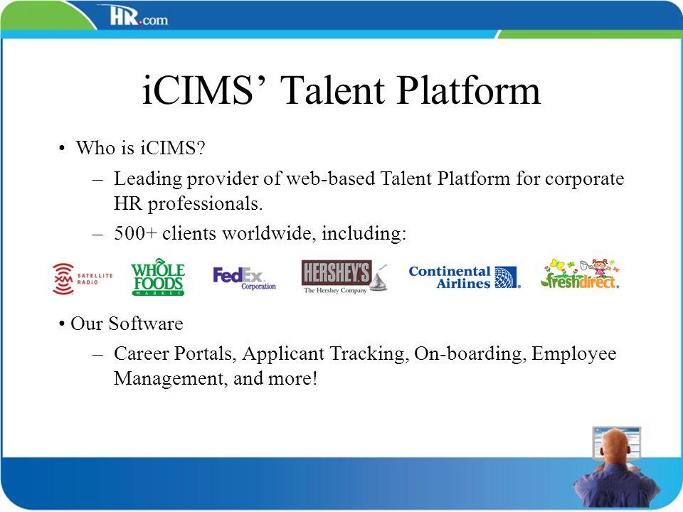 iCIMS' Talent Platform