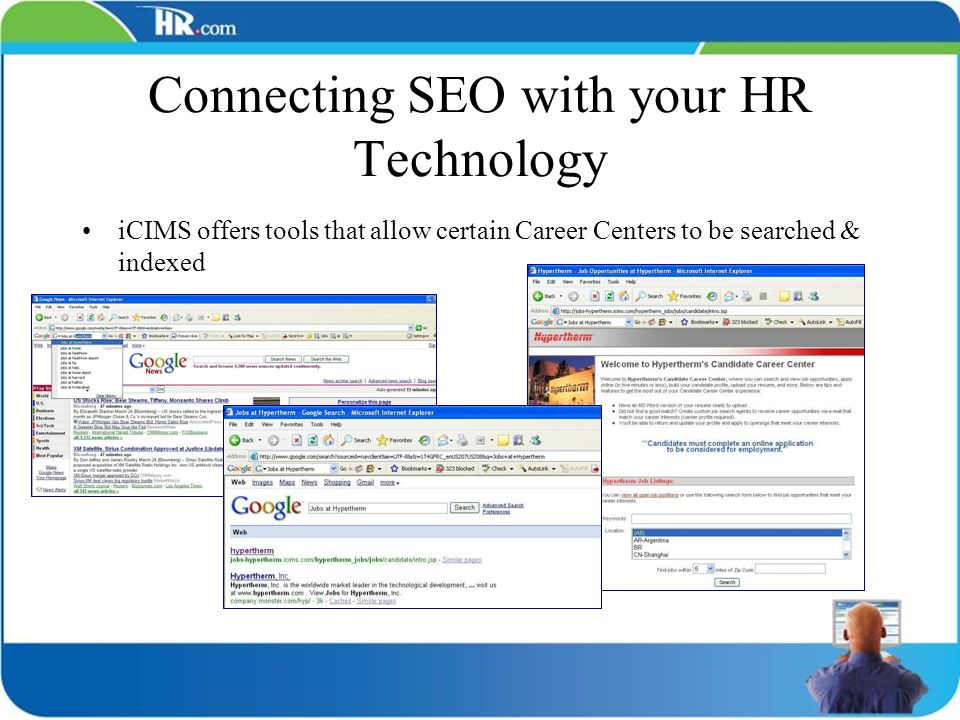 Connecting SEO with your HR Technology
