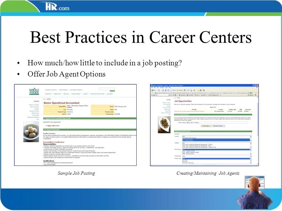 Best Practices in Career Centers