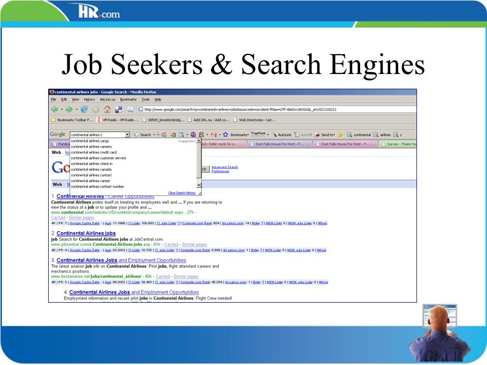 Job Seekers & Search Engines