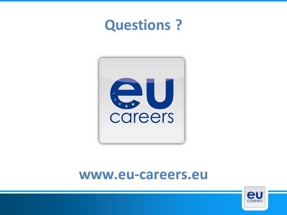 Questions www.eu-careers.eu