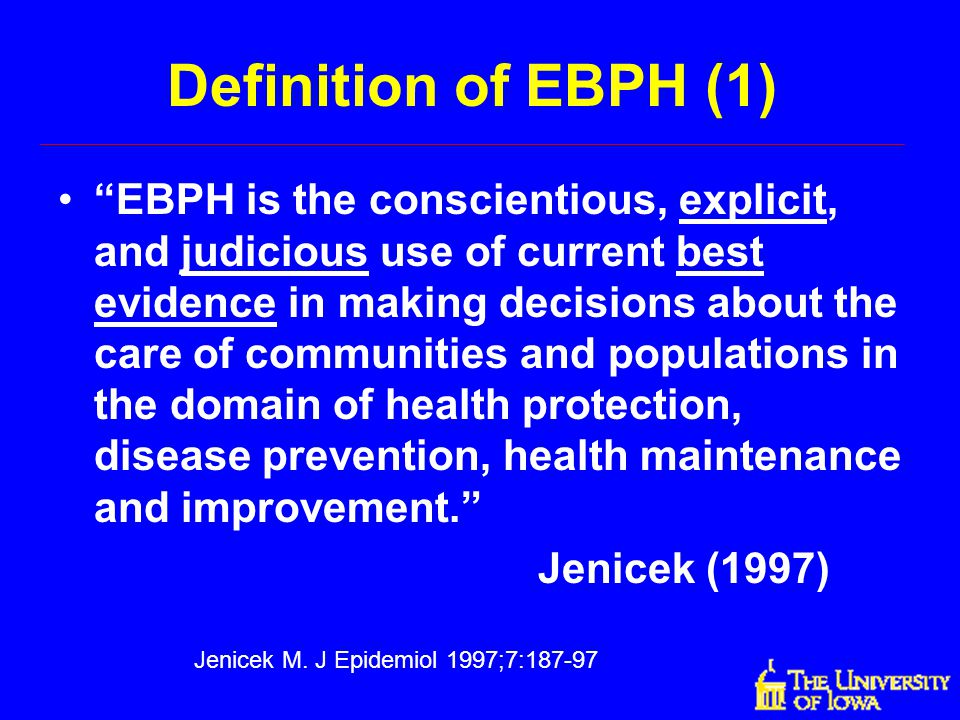 Jenicek M. J Epidemiol 1997;7:187-97